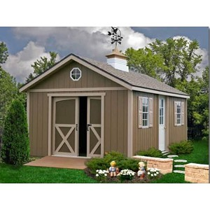North Dakota 12'x24' Best Barns Shed Barn Kit