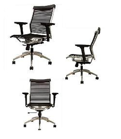 Bungee Band Chair S2158A Office Chairs Seatability Solace Chrome Chair