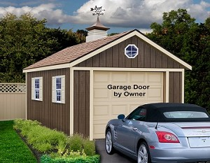 Sierra 12'x20 Best Barns Wood Garage Barn Kit
