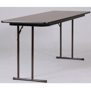 Correll Folding Tables ST2460PX 24x60 in High-Pressure Laminate Table
