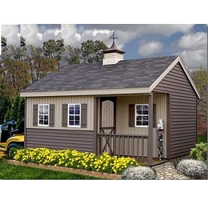 Stanford 12'x16' Best Barns Ezup Wood Shed Barn Kit