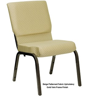 Stacking Chairs - Hercules XU-CH-60096 Church Chair - 40 Pack