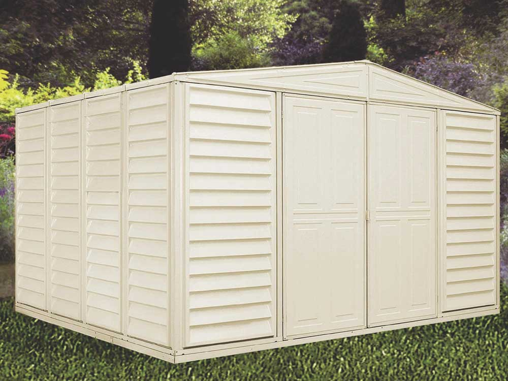 Duramax 00411 10 5 X 10 5 Vinyl Storage Shed On Sale