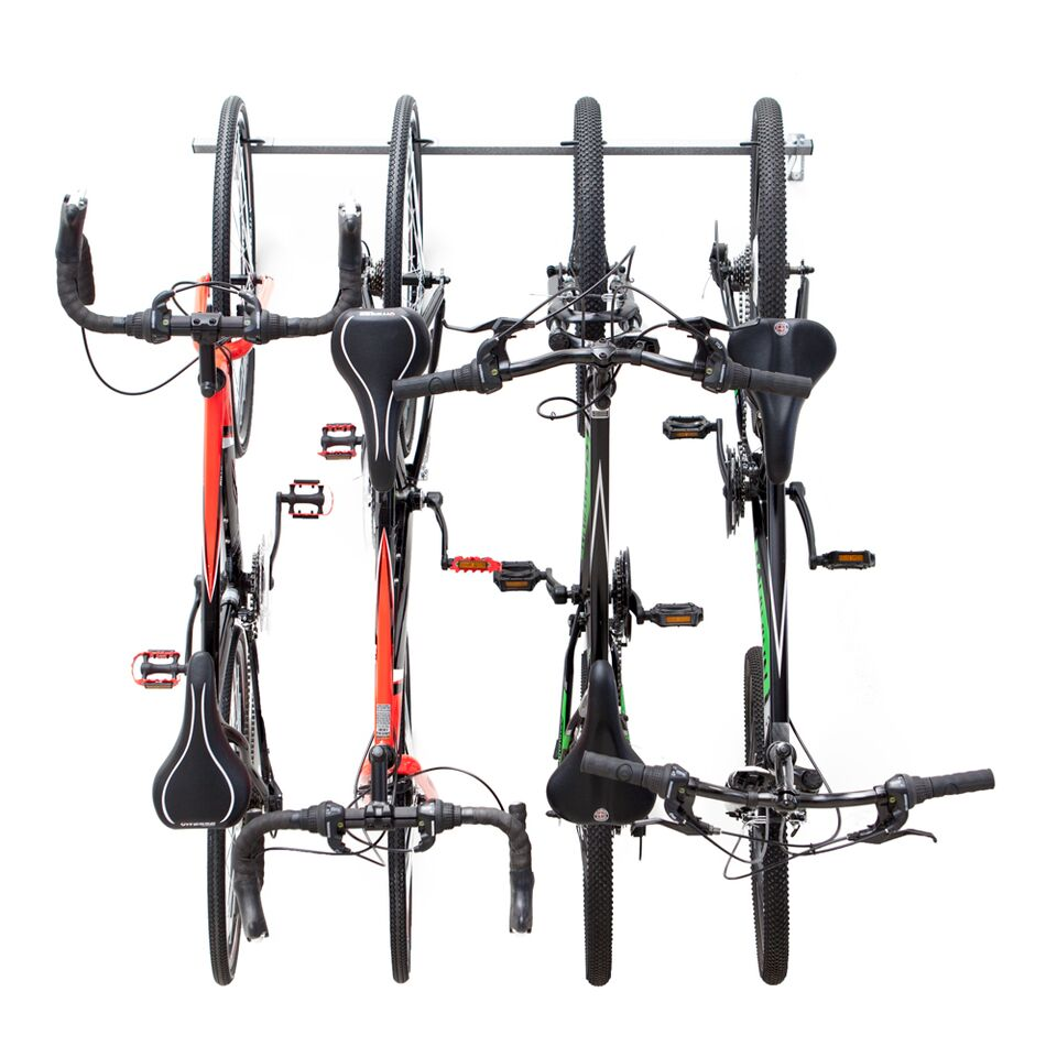 monkey bar storage 01004 vertical 4 bike bicycle storage rack. Black Bedroom Furniture Sets. Home Design Ideas