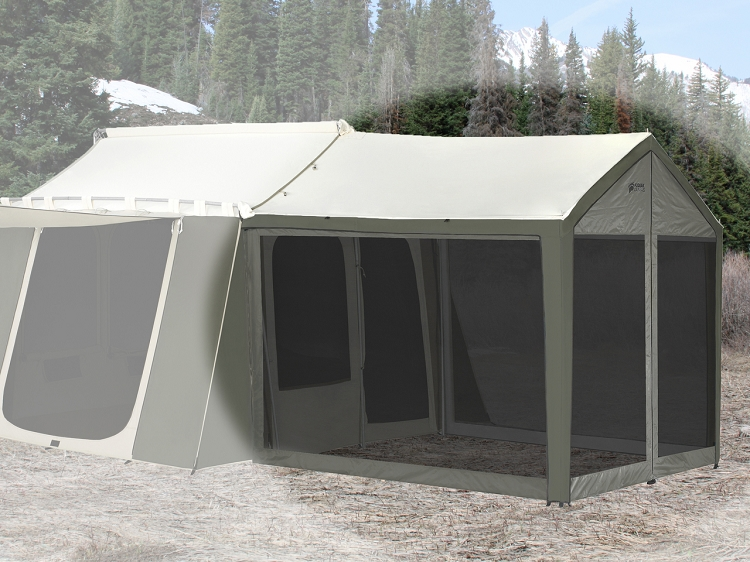 Video; assets/images/0631_2.jpg ... & Kodiak 0631 Screen Enclosure For 6133 Deluxe Awning Tent