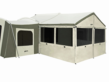 sc 1 st  Competitive Edge Products Inc & 6160 Kodiak Canvas Grand Cabin 26x8 12 Person Tent