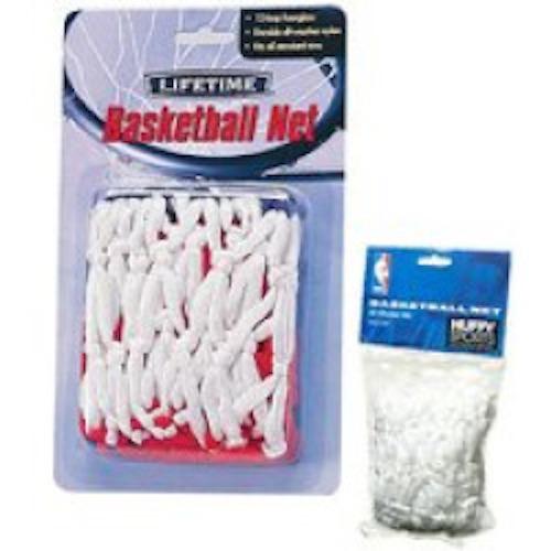 So Lifetime 50 Gram White Replacement Basketball Rim Hoop Net