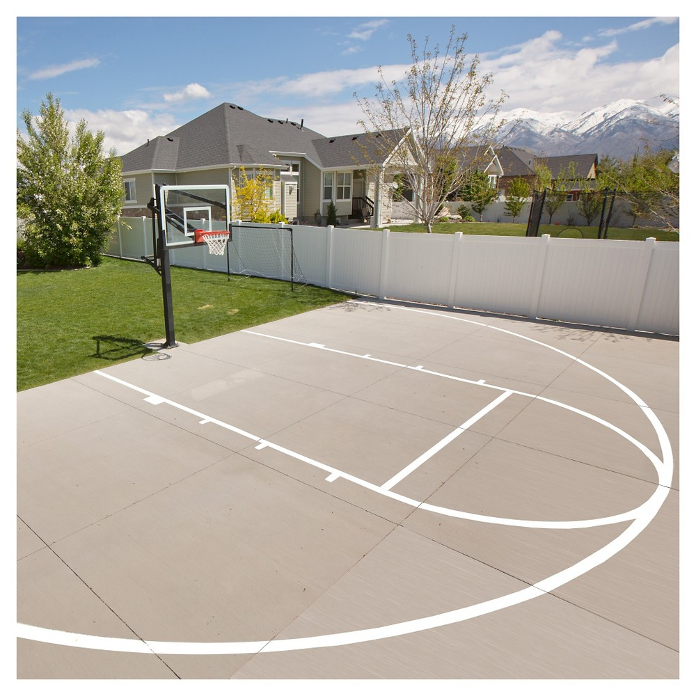 Lifetime 0900 Basketball Court Marketing Diy Kit On Sale Today