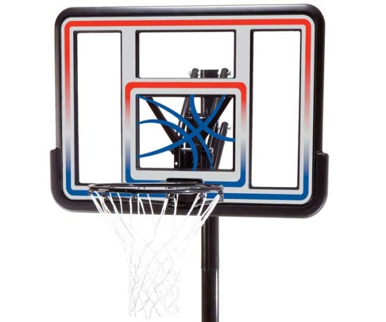 Lifetime 44 Inch Inground Basketball System Free And