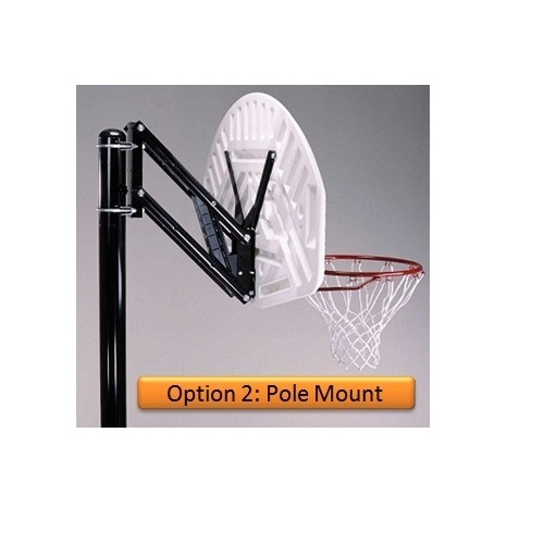 NEW Lifetime Universal Basketball Hoop Extension Brackets or Pole Wall Roof