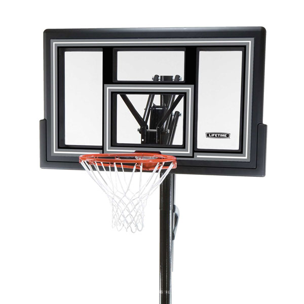 1084 Lifetime Basketball System 50-Inch Shatter Guard Backboard Model 1084