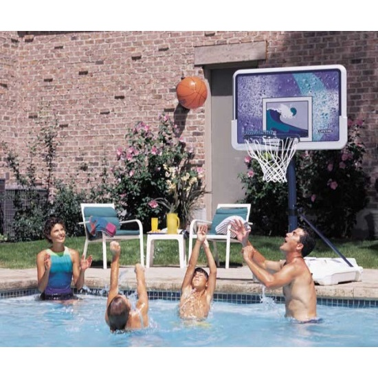 Lifetime 1301 Pool Side Basketball System on Sale with Fast Shipping