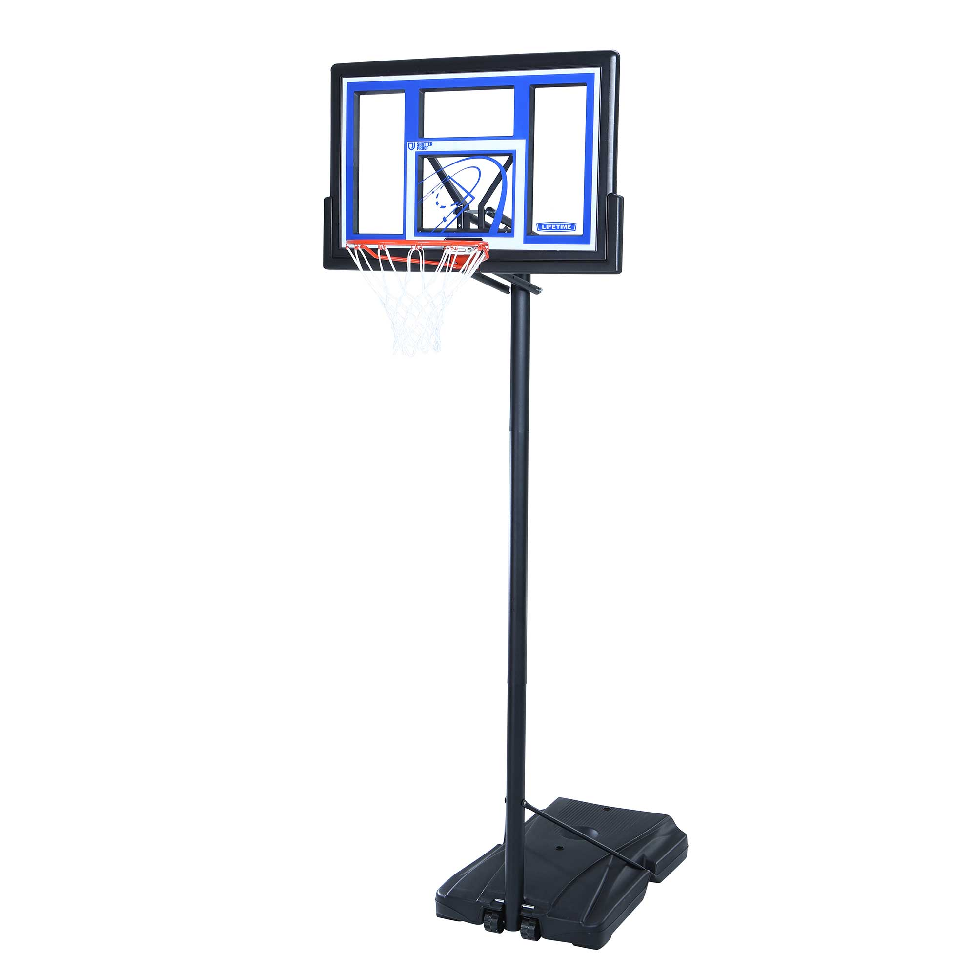 Lifetime Portable Basketball System 1531 48 Inch Backboard