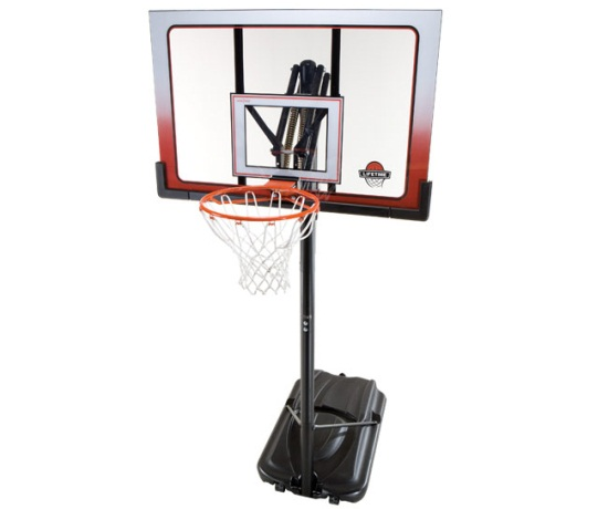 Atlas Portable Basketball System 1558 52-inch Backboard 0a435482c1