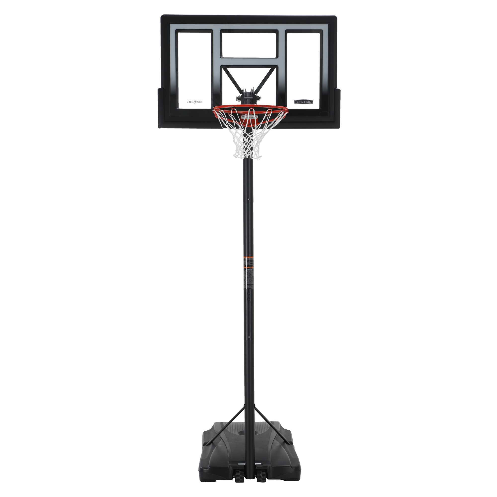 Lifetime in courtside portable basketball goal
