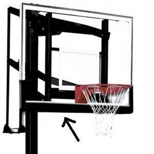Huffy Basketball Backboard Pad - 16660SP Heavy Duty 60- inch