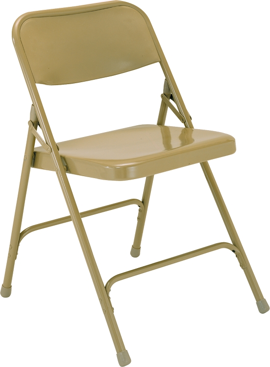 200 Series National Public Seating Metal Chair