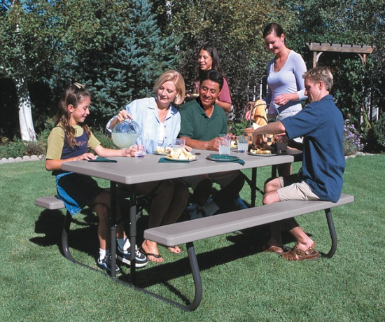 Lifetime 22119 Lifetime 6 Folding Picnic Table Sale