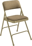 80-Pack 2200 Series Fabric NPS Padded Folding Chair