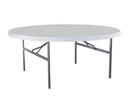Lifetime 72 Inch Round Table
