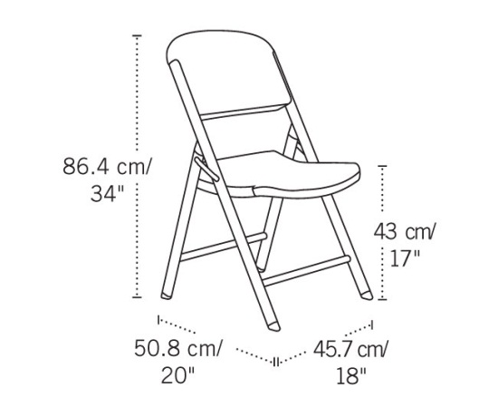 lifetime 42804 white granite chairs 4 pack on sale today in bulk
