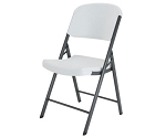 Lifetime Folding Chair - 22802 Single Pack White Granite Chair