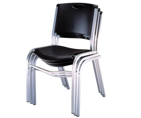 Lifetime 2830 Lifetime Black Stacking Chair On Sale Amp Free