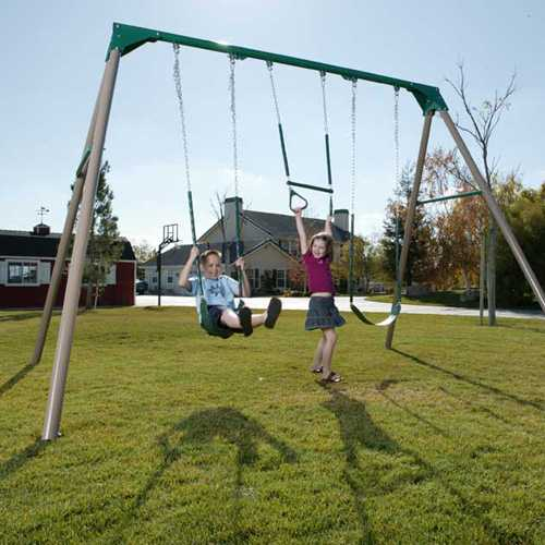 Heavy Duty Commercial Quality Swing Set Sale Today