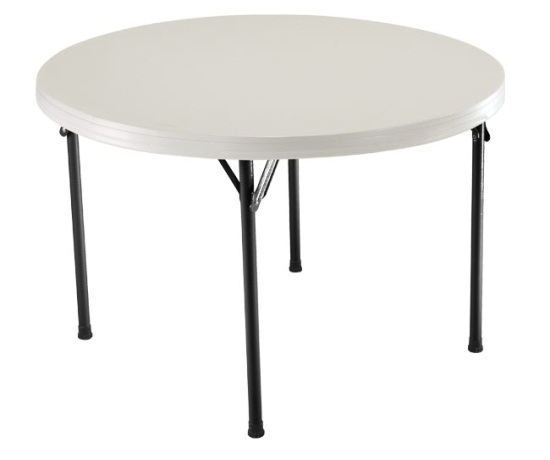 cba6c0a5d80 Lifetime Round Folding Tables - Low Price Guarantee