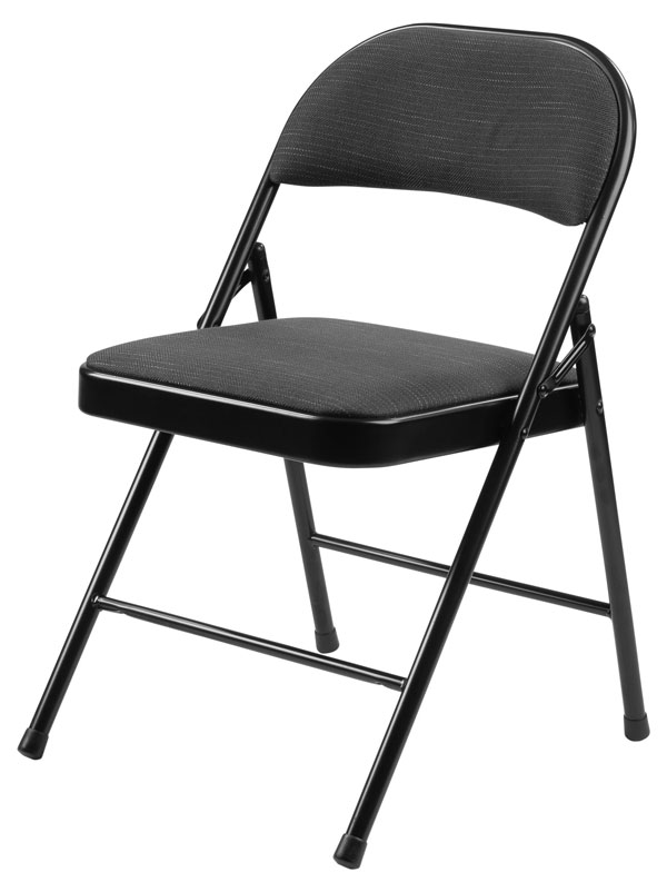 National Public Seating 4-Pack 970 Series NPS Star Trail Padded Fabric Folding Chair