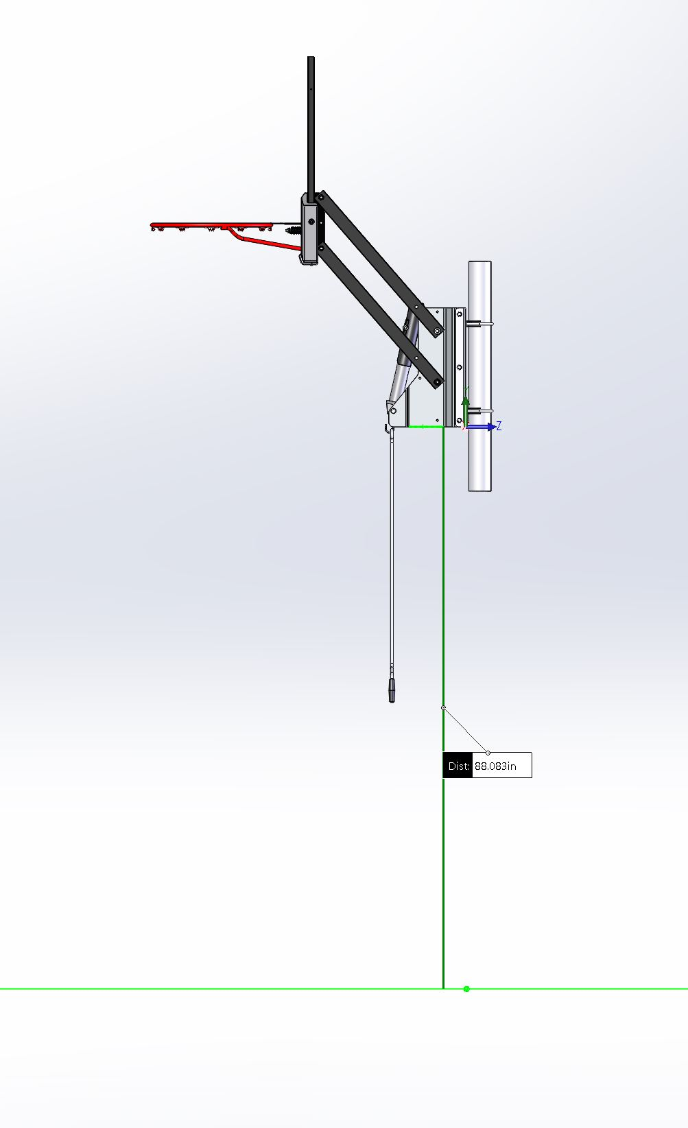 Spalding 316 U Turn Bracket Kit For 4 Quot Square Poles On