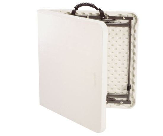 Lifetime Adjustable Height Folding Table 4428 48x24 Fold
