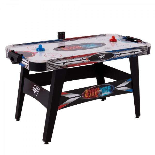 Triumph Sports 45-6060W Fire N Ice LED Air-Powered Hockey Game Table