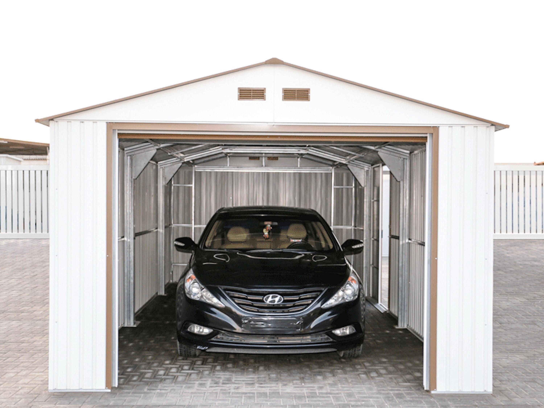 50961 duramax imperial metal garage 12x20 garage shed rubansaba