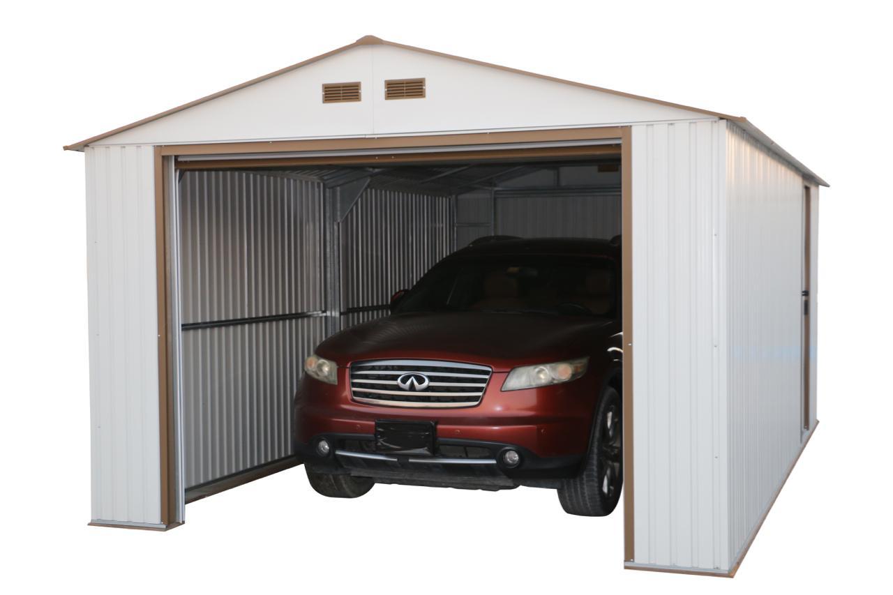 50961 duramax imperial metal garage 12x20 garage shed. Black Bedroom Furniture Sets. Home Design Ideas