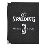 Spalding NBA Black  Pebble 8.5x11 Notebook