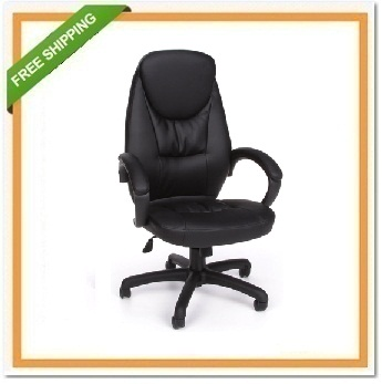 Stimulus Series Leatherette Ergonomic Task/Conference Chair