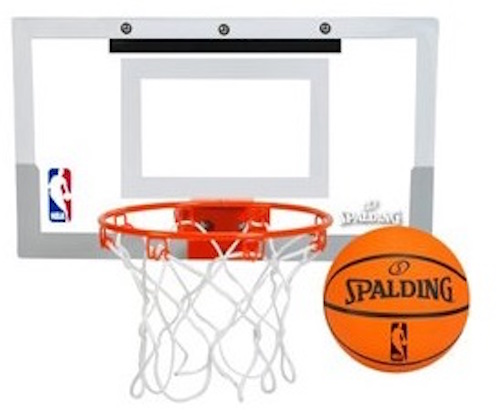 NBA Basketball Slam Jam Over the Door Unit Spalding 56099