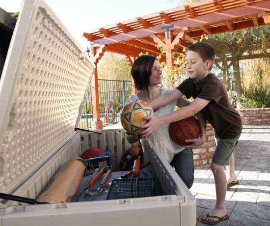 lifetime 130 gallon deck box instructions
