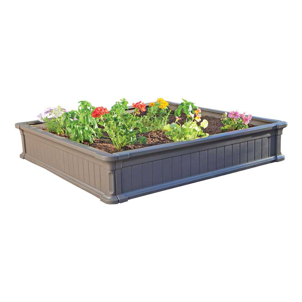 Lifetime Raised Garden Bed 2 Pack Kit With Enclosure