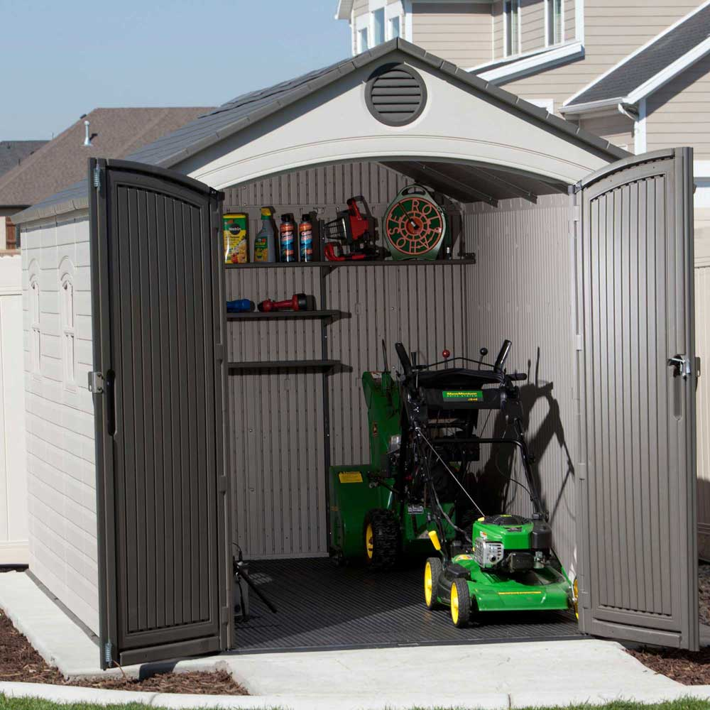 Lifetime Storage Sheds 60075 Plastic Storage Shed 8 X 15