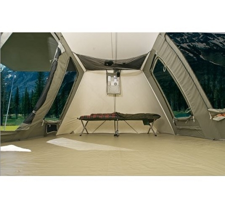 Canvas Tents Model 6098 Tent Australia Interior Review Of Kodiak Flex Bow 6 Person Deluxe Gear