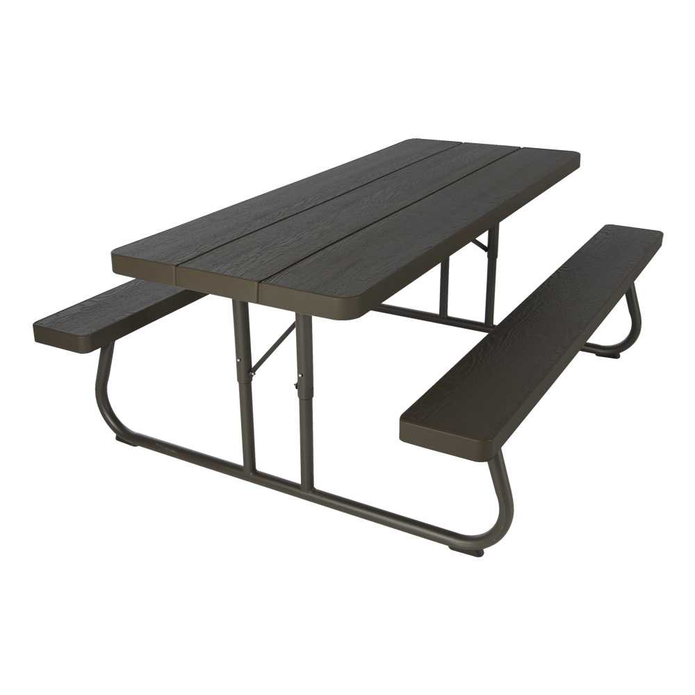 - Lifetime 6 Foot Picnic Table Brown - Sale Today With Fast Shipping .