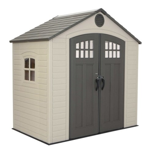60113 lifetime 8 x 5 storage building on sale with free for Garden shed 8x5