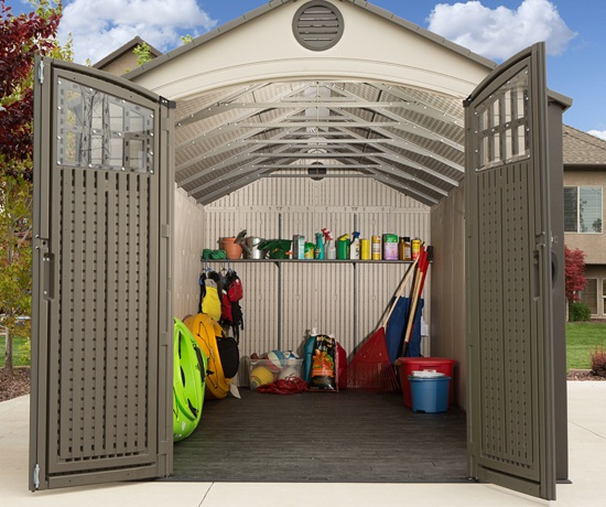 Lifetime 60120 8 X 20 Storage Shed On Sale With Fast