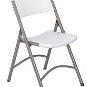 4-Pack 600 Series NPS Blow Molded Plastic Folding Chair