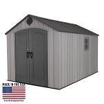 LIfetime Rough Cut Shed 60305 8x12.5 Storage Building