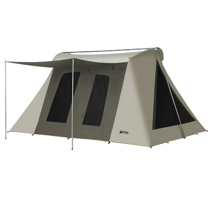 Super Deluxe Kodiak Canvas Tent 6041VX 10x14 (with tarp 6043)  sc 1 st  Competitive Edge Products Inc & Kodiak Canvas Tent 6041VX Super Deluxe 10x14 Includes Free Ground Tarp