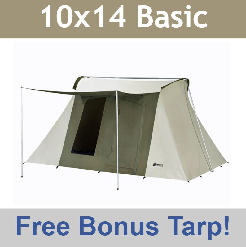 Video; assets/images/6044frame.jpg ...  sc 1 st  Competitive Edge Products & Kodiak Canvas Tent 6044 10x14 ft. 8-Person - Discounted Price on Tarp