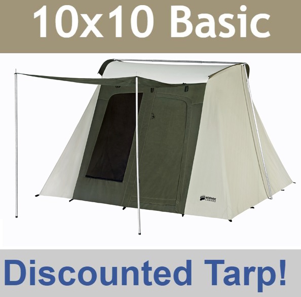 Video; assets/images/6051 front.jpg ... & Kodiak Canvas Tent 6051 6-Person 10x10 Ft. Tent